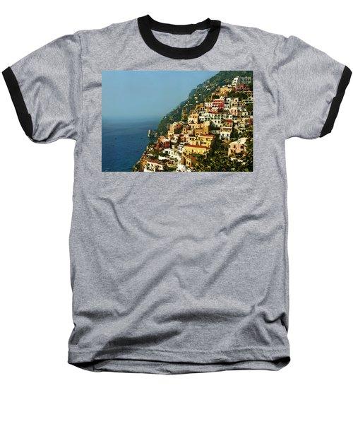 Positano Impression Baseball T-Shirt