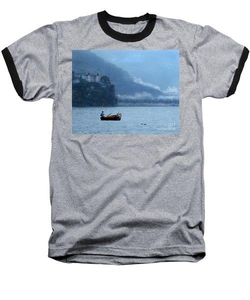 Baseball T-Shirt featuring the photograph Amalfi To Capri. Italy by Jennie Breeze