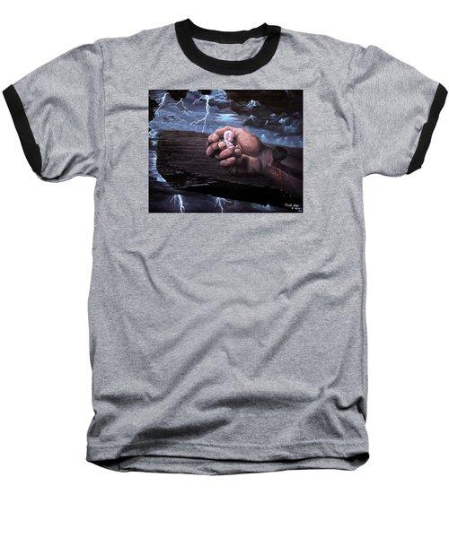 Amazing Grace Baseball T-Shirt by Bill Stephens