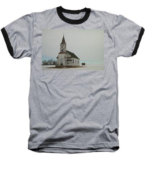 Amazing Grace In North Dakota Baseball T-Shirt by Jeff Swan