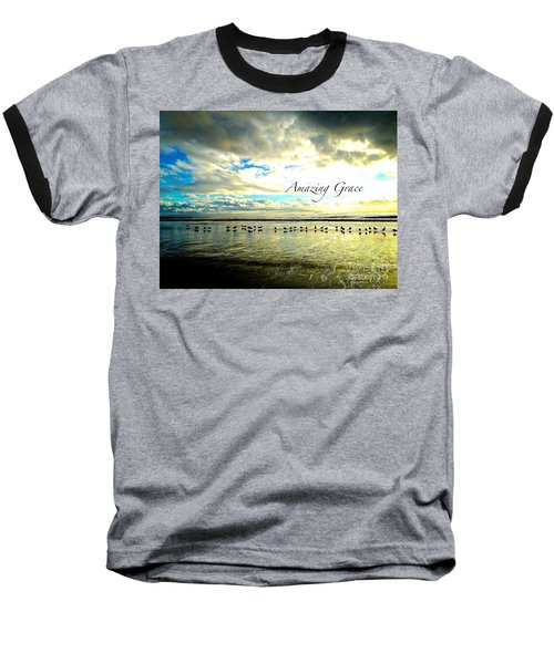 Amazing Grace Sunrise 2 Baseball T-Shirt by Margie Amberge