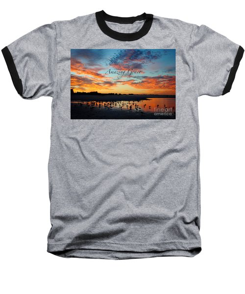 Amazing Grace On Siesta Key Baseball T-Shirt by Margie Amberge