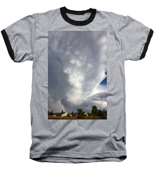 Amazing Storm Clouds Baseball T-Shirt