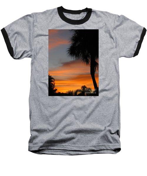 Amazing Sunrise In Florida Baseball T-Shirt by Oksana Semenchenko
