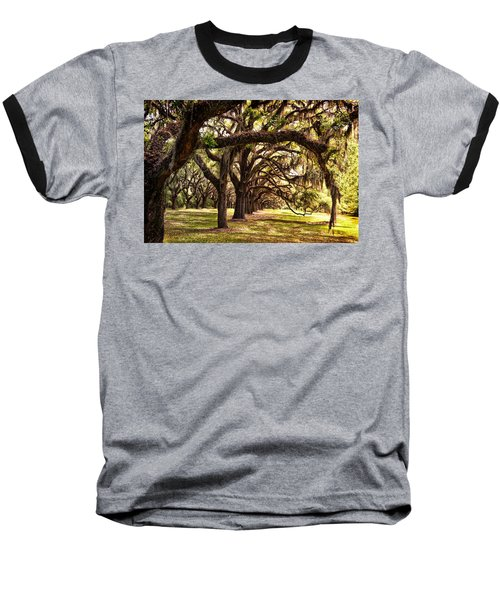 Amber Archway Baseball T-Shirt by Renee Sullivan