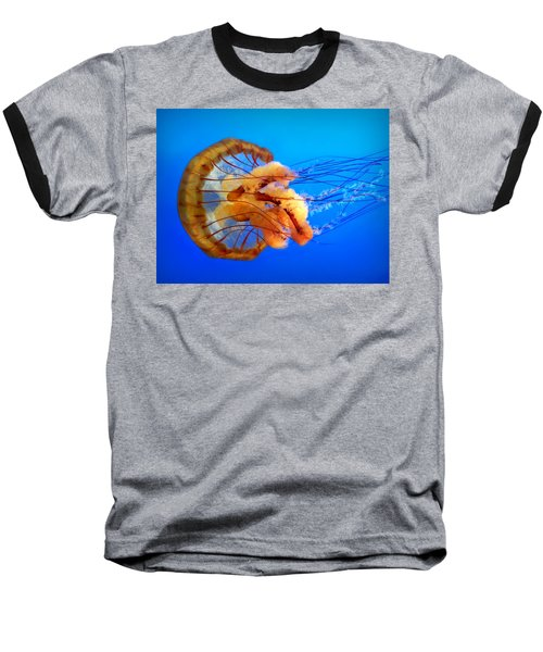 Amber Seduction Baseball T-Shirt