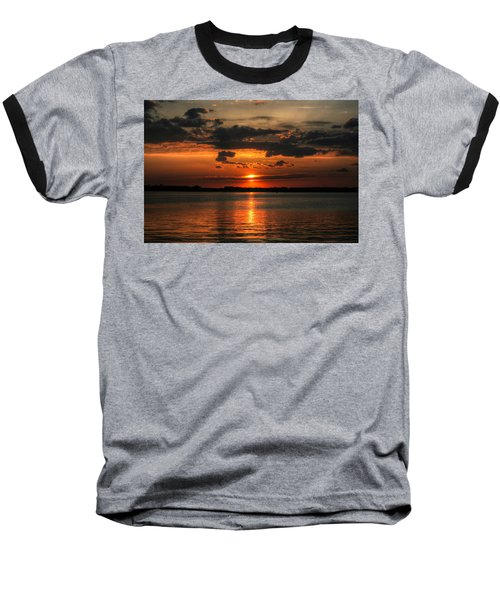 Amber Sunset Baseball T-Shirt
