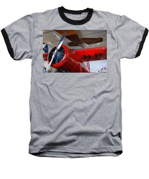 Amelia Earhart Prop Plane Baseball T-Shirt