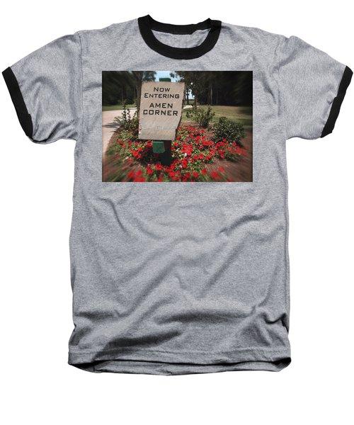 Amen Corner - A Golfers Dream Baseball T-Shirt by Ella Kaye Dickey