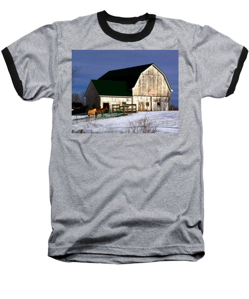 American Barn Baseball T-Shirt