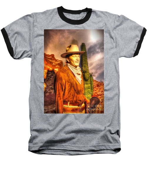 American Cinema Icons - The Duke Baseball T-Shirt