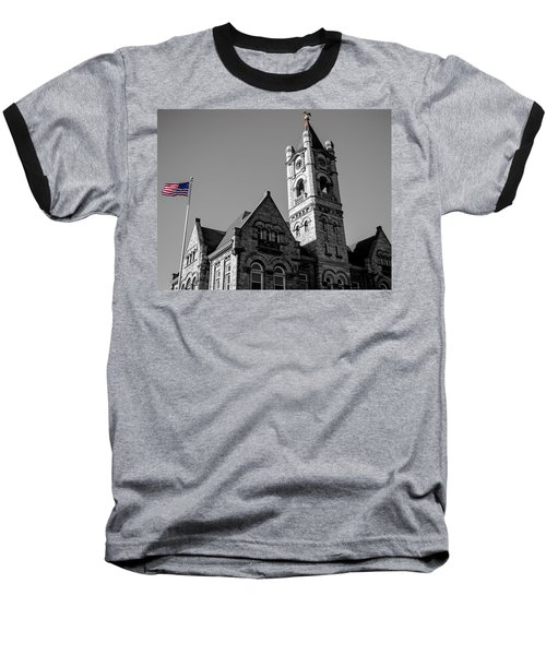 American Courthouse Baseball T-Shirt
