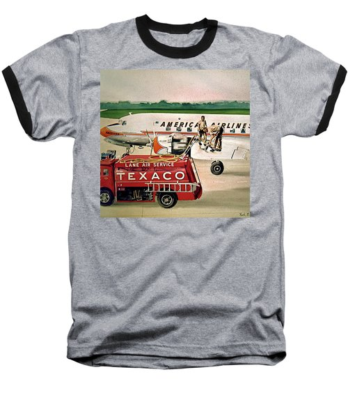 American Dc-6 At Columbus Baseball T-Shirt