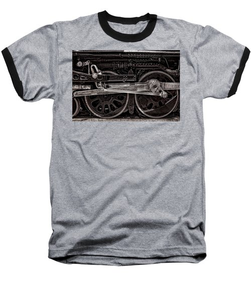 Baseball T-Shirt featuring the photograph American Iron by Ken Smith
