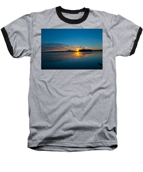 American Lake Sunrise Baseball T-Shirt