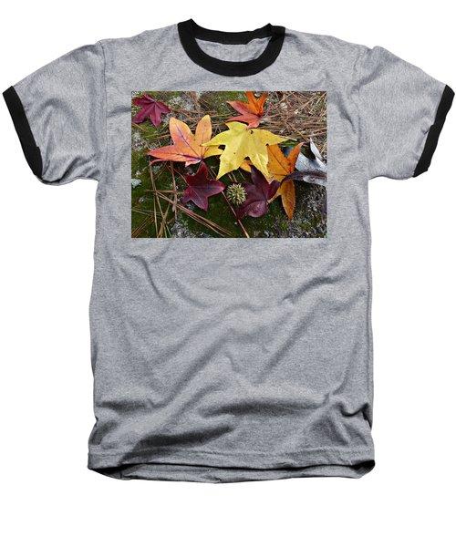 Autumn Baseball T-Shirt by William Tanneberger
