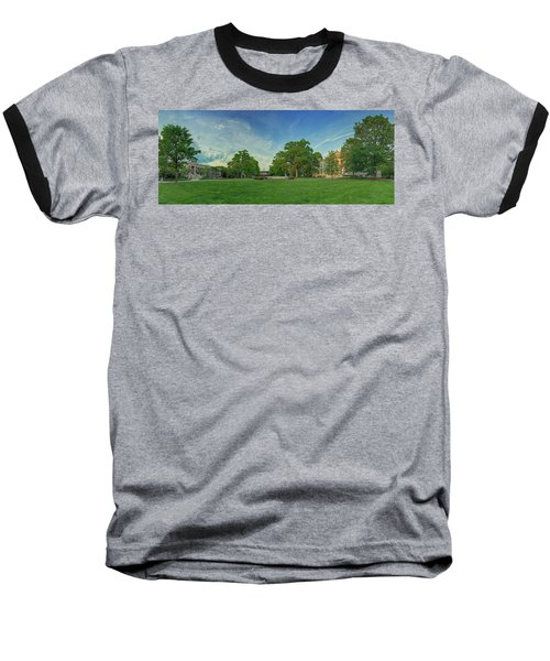 American University Quad Baseball T-Shirt