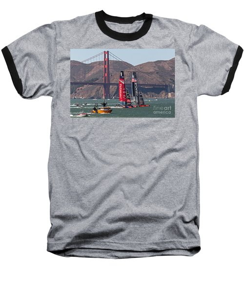 Americas Cup At The Gate Baseball T-Shirt