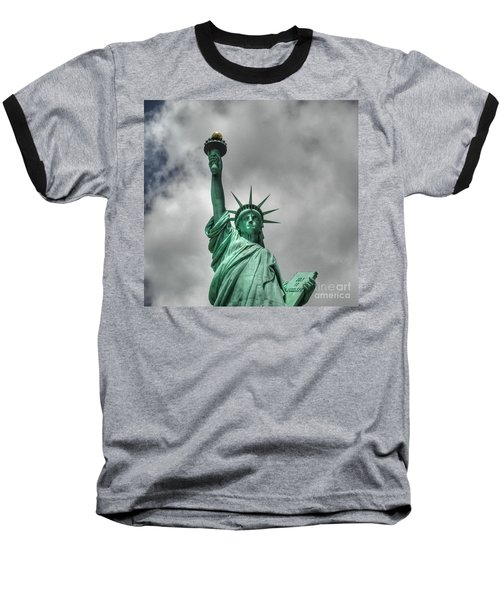 America's Lady Liberty Baseball T-Shirt