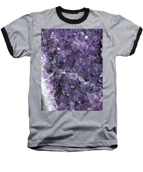 Amethyst Geode II Baseball T-Shirt