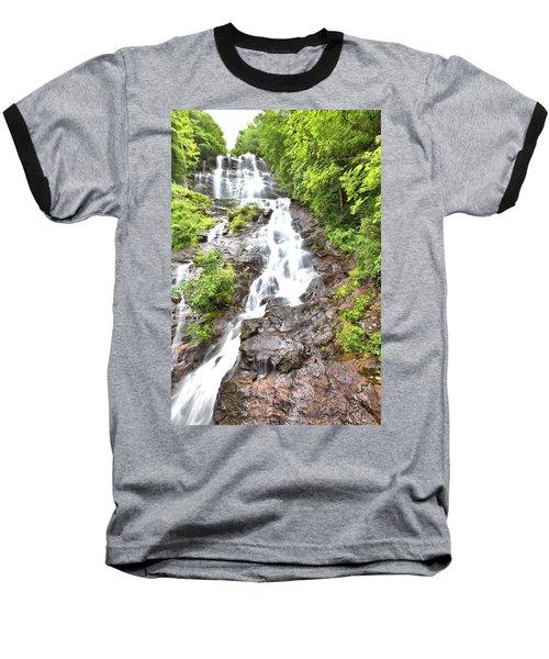 Amicalola Falls Baseball T-Shirt