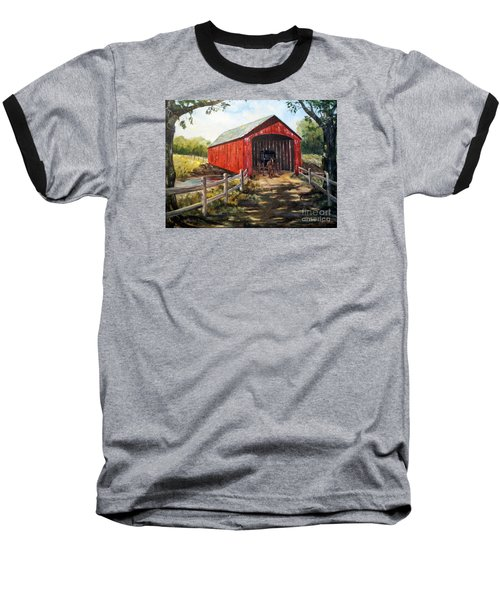 Amish Country Baseball T-Shirt by Lee Piper
