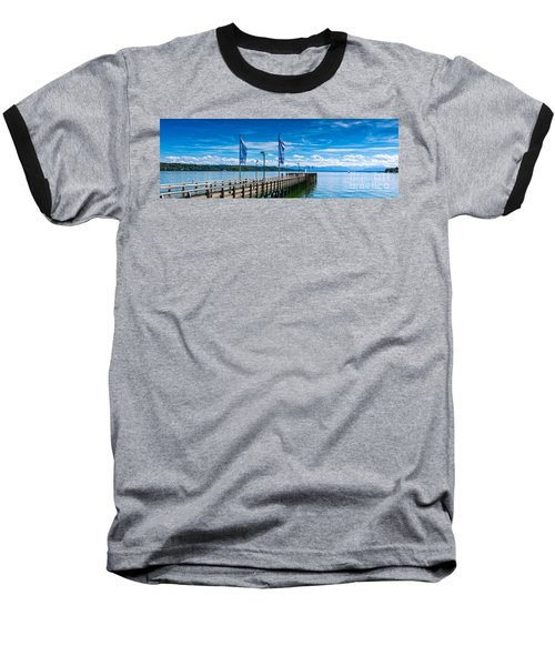 Ammersee - Lake In Bavaria Baseball T-Shirt by Juergen Klust