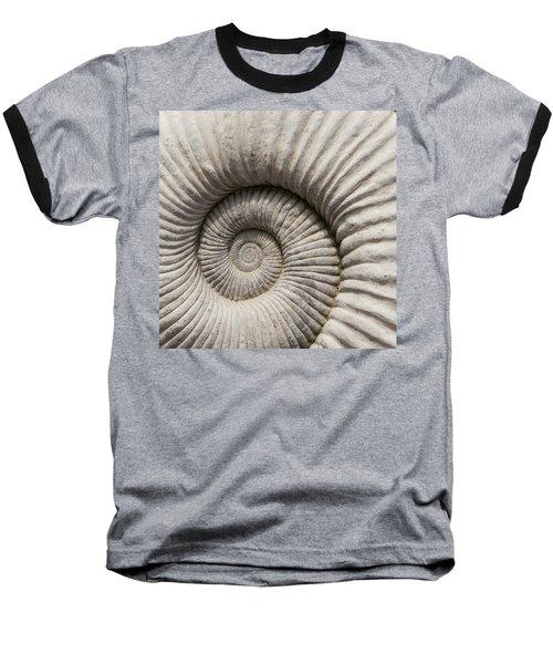 Ammonites Fossil Shell Baseball T-Shirt