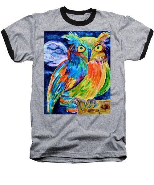 Ampersand Owl Baseball T-Shirt