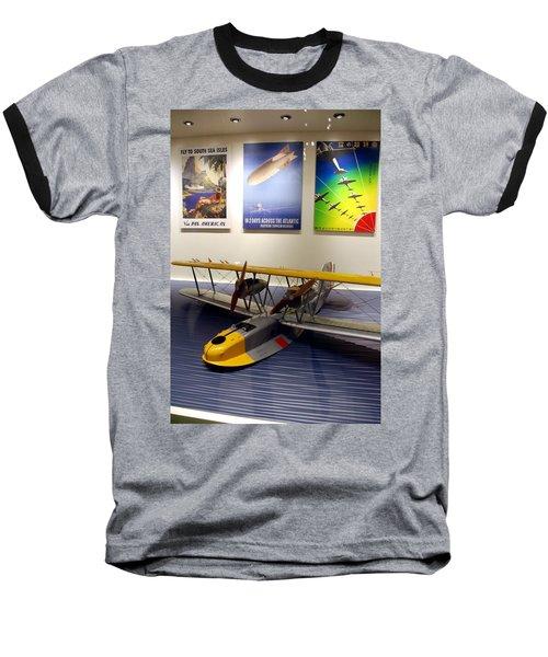 Amphibious Plane And Era Posters Baseball T-Shirt