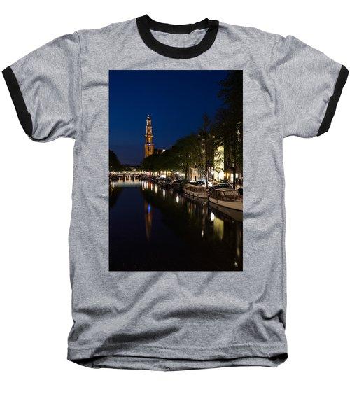 Amsterdam Blue Hour Baseball T-Shirt