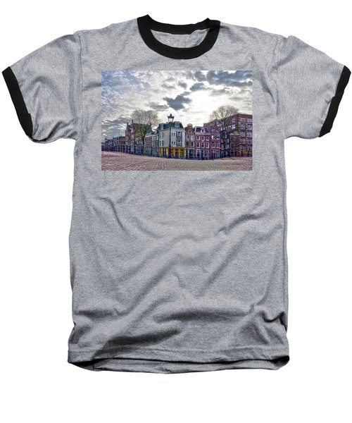 Amsterdam Bridges Baseball T-Shirt