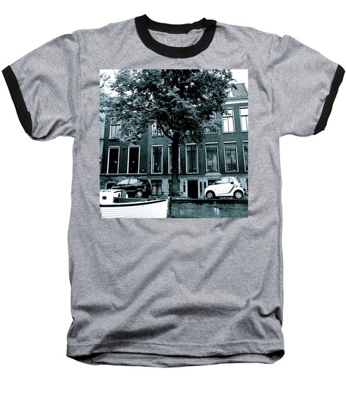 Amsterdam Electric Car Baseball T-Shirt
