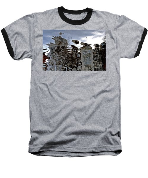 Baseball T-Shirt featuring the photograph Amsterdam Reflections 2 by Andy Prendy
