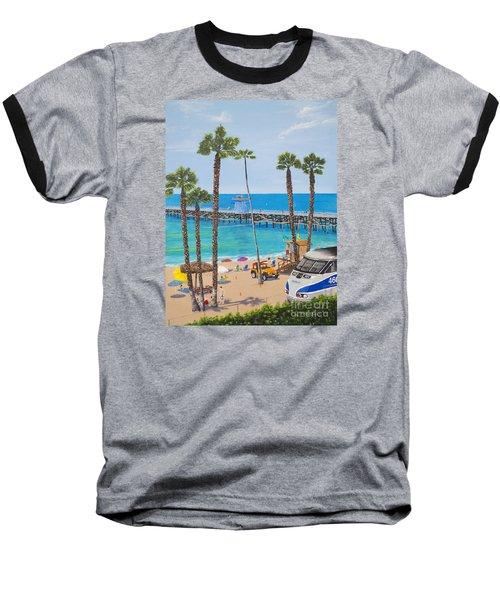 Perfect Beach Day Baseball T-Shirt