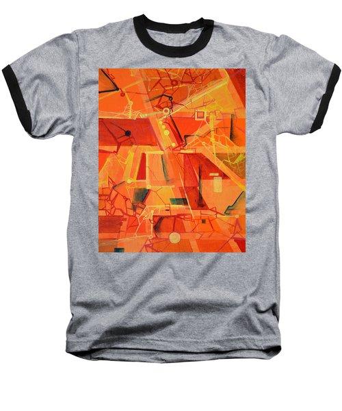 An Acoustic Perspective Baseball T-Shirt by Regina Valluzzi