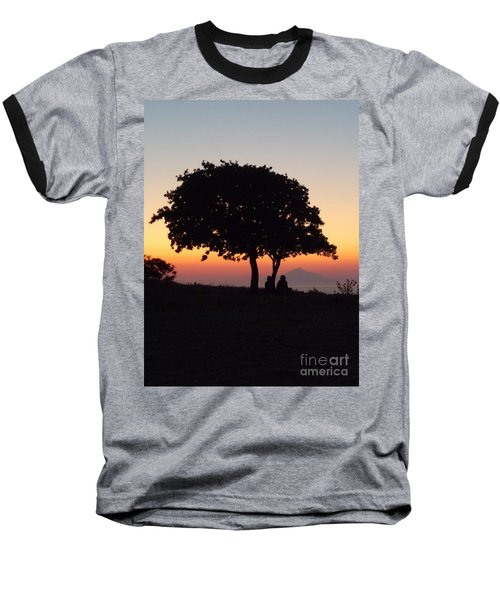 Baseball T-Shirt featuring the photograph An African Sunset by Vicki Spindler