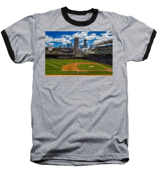 An Afternoon At Target Field Baseball T-Shirt