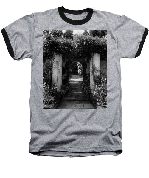 An Archway In The Garden Of Mrs. Carl Tucker Baseball T-Shirt
