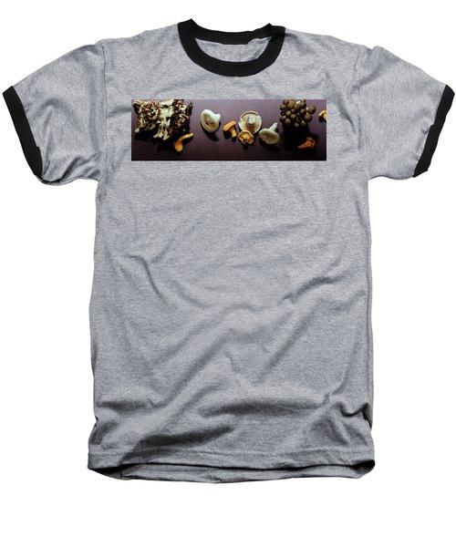 An Assortment Of Mushrooms Baseball T-Shirt