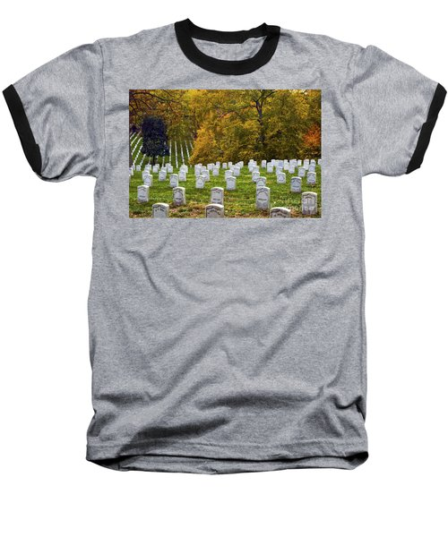 An Autumn Day In Arlington Baseball T-Shirt