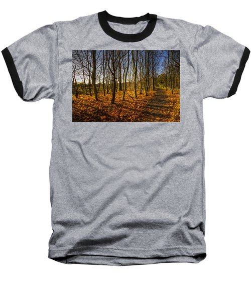 An Autumn Walk Baseball T-Shirt