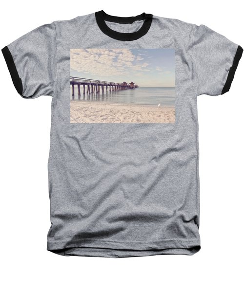 An Early Morning - Naples Pier Baseball T-Shirt