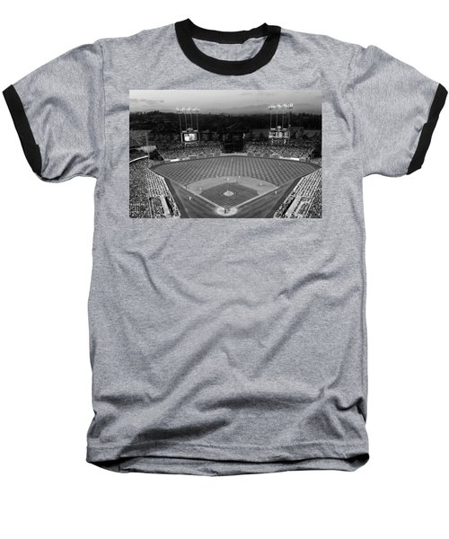 An Evening Game At Dodger Stadium Baseball T-Shirt