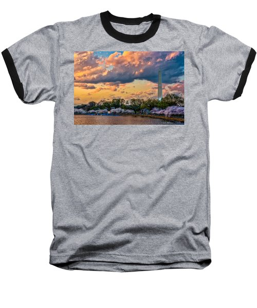An Evening In Dc Baseball T-Shirt