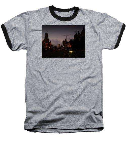 Mumbai Baseball T-Shirt by Salman Ravish