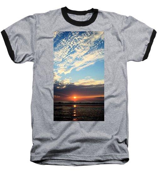 An Ocean And A Sunrise Baseball T-Shirt