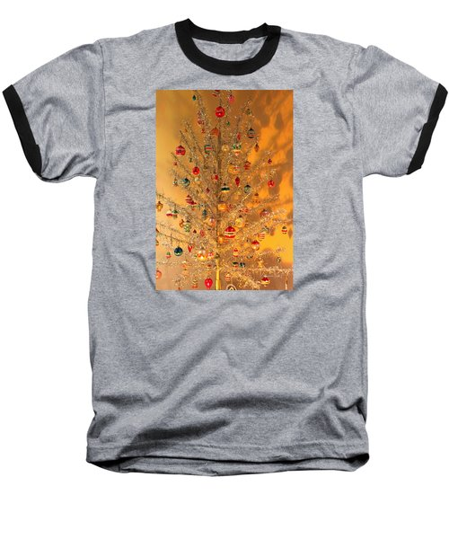 An Old Fashioned Christmas - Aluminum Tree Baseball T-Shirt