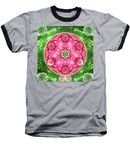 Anahata Rose Baseball T-Shirt
