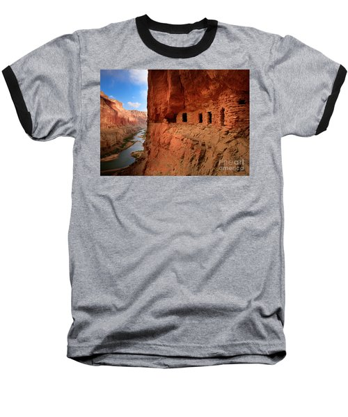 Anasazi Granaries Baseball T-Shirt